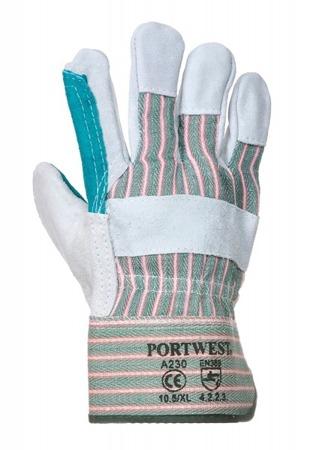 Rękawice robocze skórzane A230 Portwest
